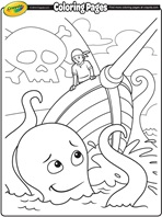 Pirate Adventure coloring page