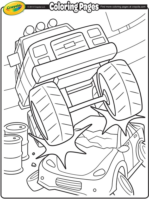 monster with pencil coloring pages - photo#34