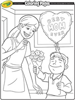 Father's Day - No.1 Dad coloring page