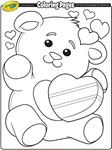 Valentine's Heart coloring page
