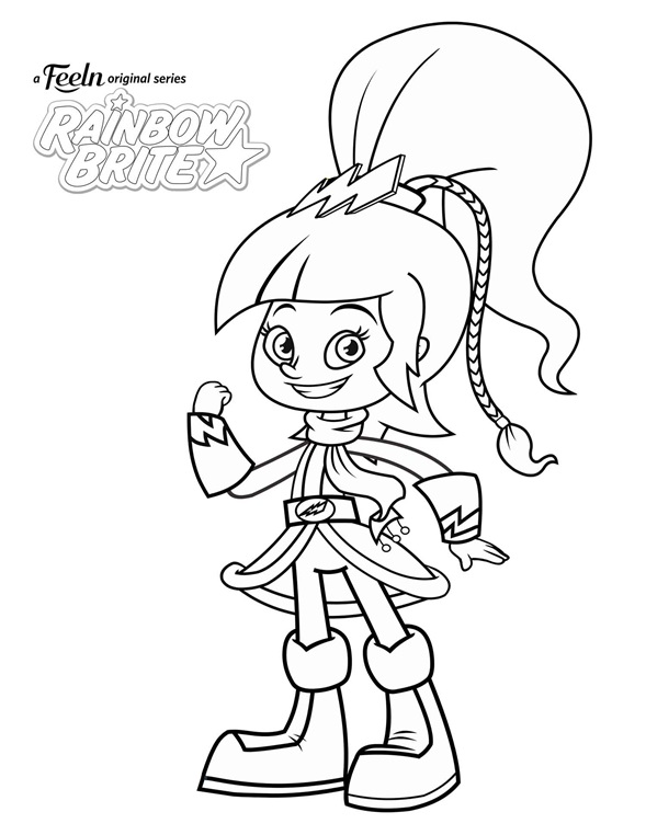 Disney Princess Belle coloring page