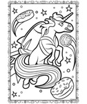 Uni-creatures Unicorn in Space