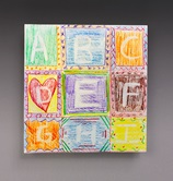 Erasable Alphabet Blocks craft