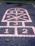 Hip Hop Hopscotch craft