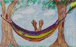 Rainbow Hammock craft