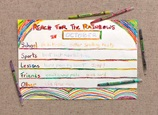 Rainbow Goals Chart craft