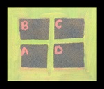 Four Squares, Bounce Between Colors craft