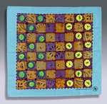Beach Bandana Checkers craft