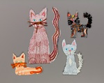 Playful Cat Family craft