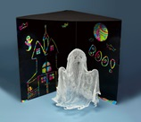 Gauzy Ghost Halloween Decoration craft