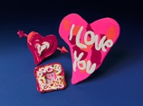 Stuck on You Heart Magnets craft