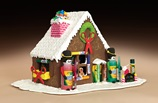 Celebrate With a Gingerbread House! craft