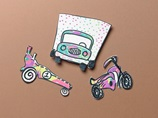 Race Car Cutouts craft