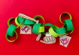 Favorite Sport Paper Chain craft