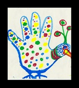 Polka Dots on Your Palm craft