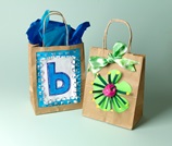 Surprise! Window Gift Bags craft