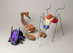 Insects! Recycled Robots craft