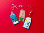 3-D Winter Holiday Gift Tags craft