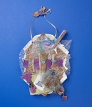 Trash-to-Treasure Texture Collage craft