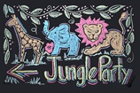 Jungle Party Here! craft