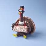 Goofy Gobbling Turkey craft