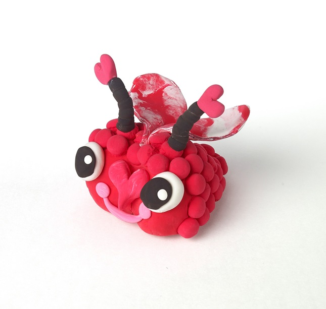 Bumpy Love Bugs craft