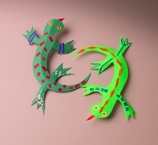 Leaping Lizards craft