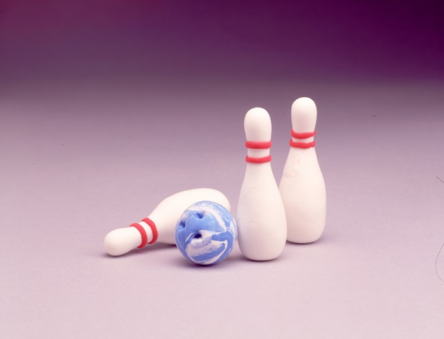 Tabletop Bowling craft