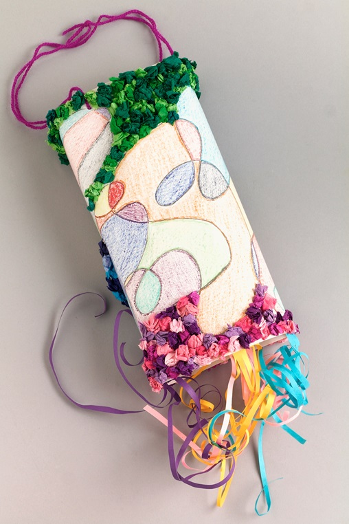 Whimsical Windsock craft