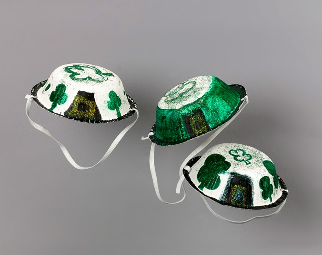 Lucky Parade Hat craft