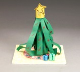 Christmas Tree Table Topper craft