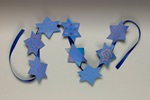 Chanukah Star Garland craft