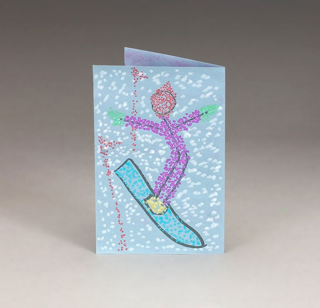 Snowboard Slalom craft