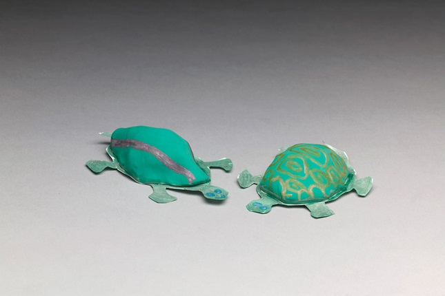 how to make a turtle shell out of paper