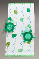 Turtle Party! Tags and Tables craft