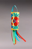Wild Animal Windsock craft