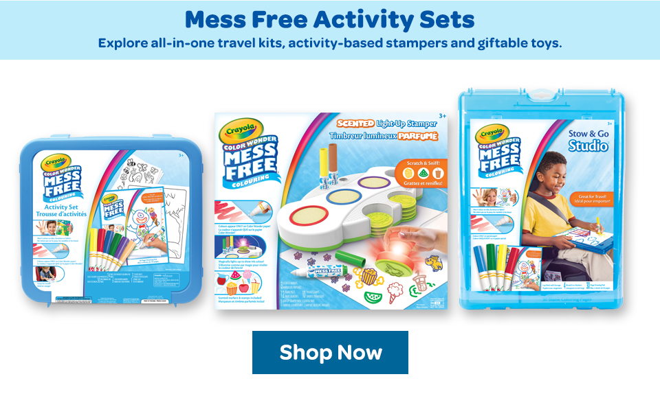 Mess Free Activity Sets