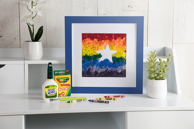 Crayon Shaving Art