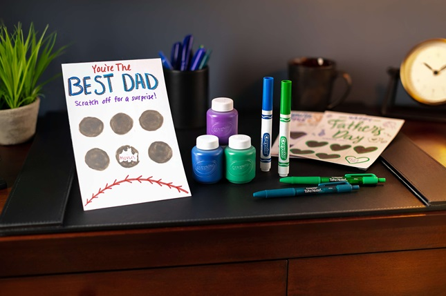 Fathers Day Scratch Off Card Craft