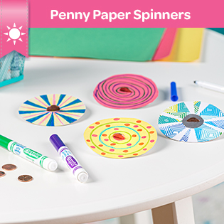 Penny Paper Spinners