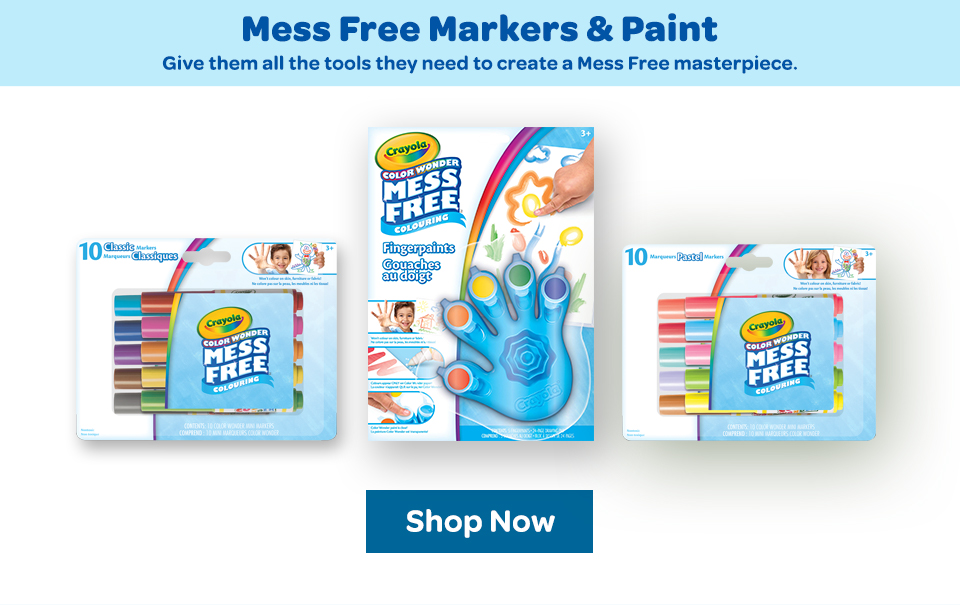 Color Wonder Mess Free Markers and Paints