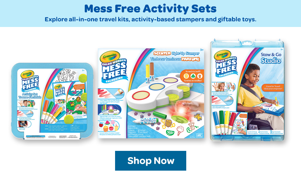 Crayola Color Wonder Mess Free Activity Sets