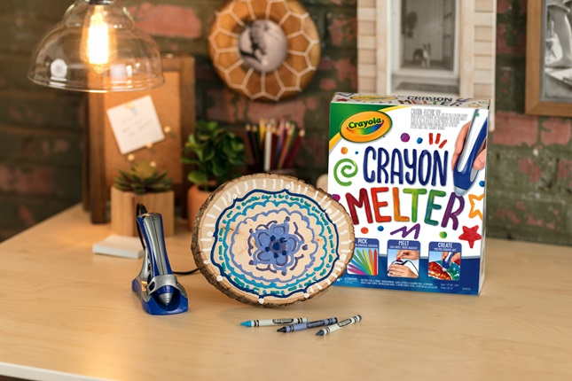 Crayon Melter Mandala Craft