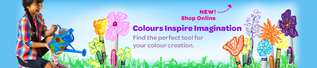 Colours Inspire Imagination Shop Online