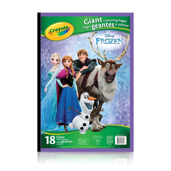 giant colouring pages disney frozen