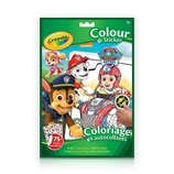 paw patrol colour and sticker