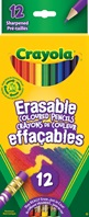 12 ct. Erasable Colored Pencils