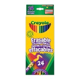 24 ct. Erasable Colored Pencils