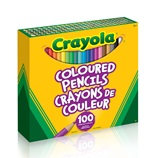 Crayola Coloured Pencils 100 ct