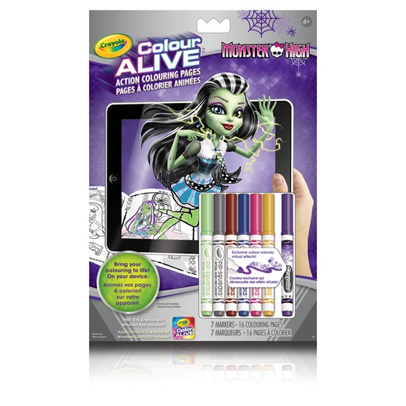 colour alive monster high